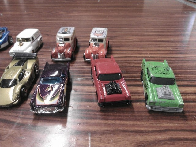 Just a reminder of what Hot Wheels I got to trade