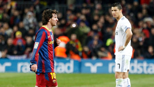 Messi vs Ronaldo in 2015 - Numbers Contest