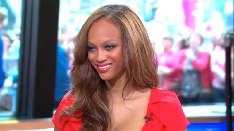 Tyra Banks Says, 'No More Eating Disorders.' Eating Disorders Agree, Go Away Forever