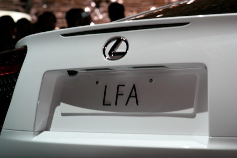 Lexus LFA: 2009 Tokyo Motor Show Live Photos