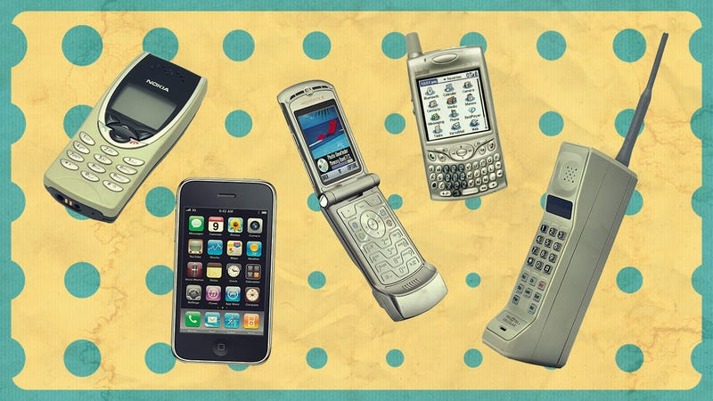 Show Us Your First Cell Phone