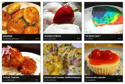 Browse, Create, and Share Recipes at Nibbledish