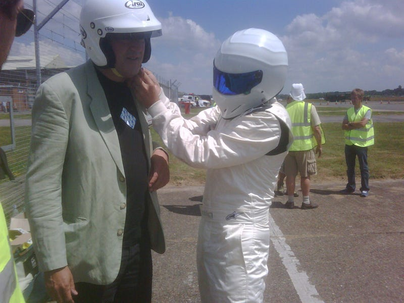 Stephen Fry Is Probably Not The Stig