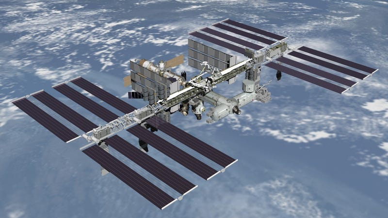 The International Space Station Is Leaking Ammonia
