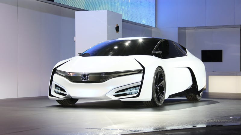 The Honda FCEV Concept Previews A Stunning Car No One Will Buy