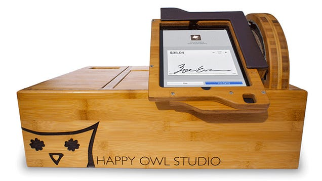 The Cash Register of the Future Wraps the iPad in Beautiful Bamboo