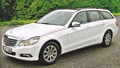 Is This The 2010 Mercedes E-Class Wagon?