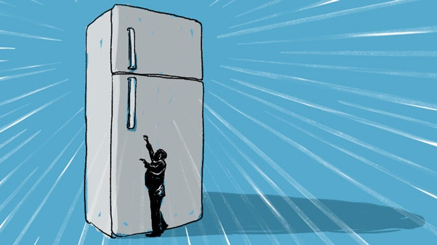 Your Giant American Refrigerator Is Making You Fat And Poor
