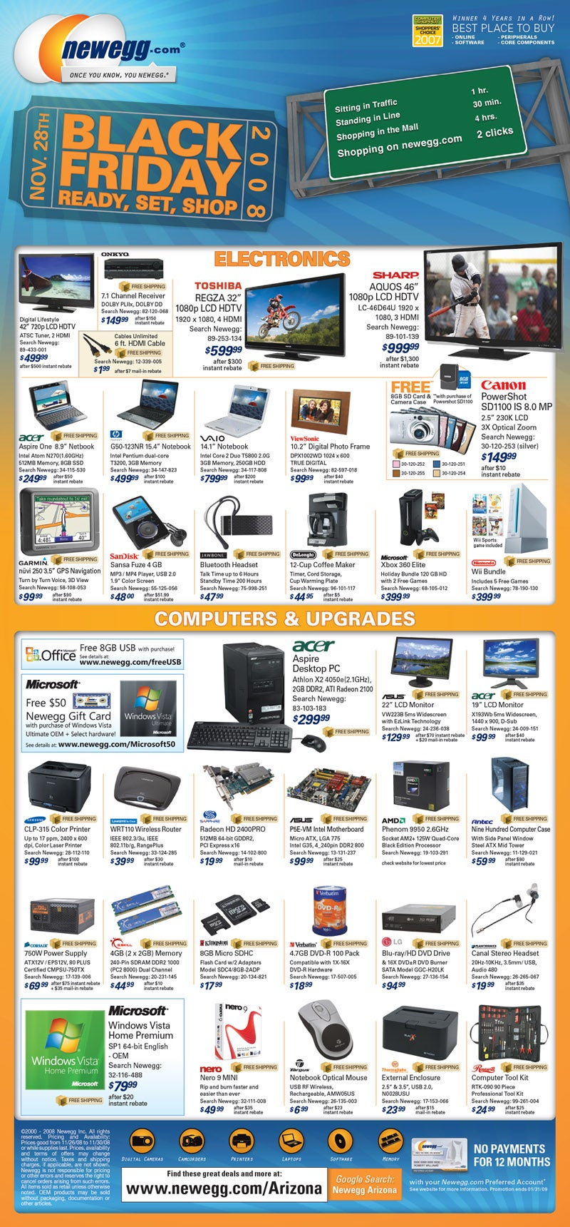 Newegg's Black Friday Deals Unveiled