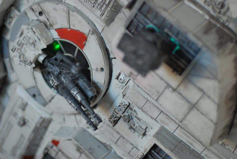 Modded Millennium Falcon Can Pass for Real Movie Prop
