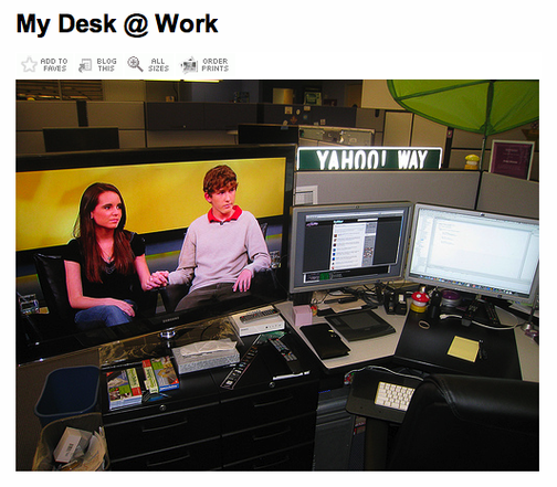 Why Is Yahoo Laying People Off? The Answer Is on an Engineer's Desk