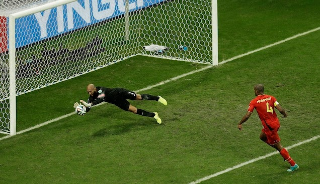 Yes, Tim Howard Really Was As Great As He Seemed Yesterday