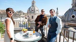 Henry Cavill and Armie Hammer Are Sixtiestastic In <i>Man From UNCLE </i>Photo