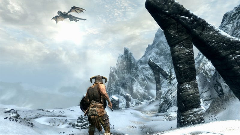 Skyrim's Official High Resolution Texture Pack Makes Your Dovahkiin Sexier Than Ever