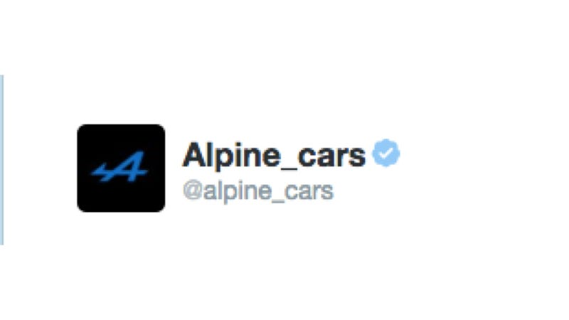 Alpine Will Officially See Resurrection In Two Weeks Time