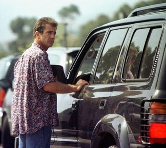 Mel Gibson Needs to Stay Away from Motor Vehicles