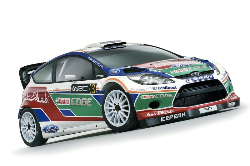 Ford Fiesta RS Rally Car Shows Off Its New Duds