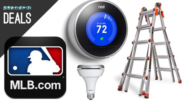 Deals: Nest Learning Thermostat, Little Giant Ladder, MLB.TV