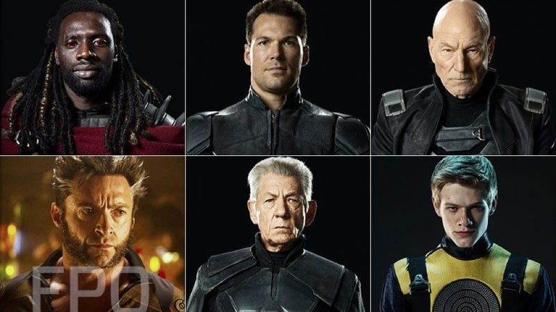 First (tiny) look at X-Men: Days of Future Past's Bishop and more