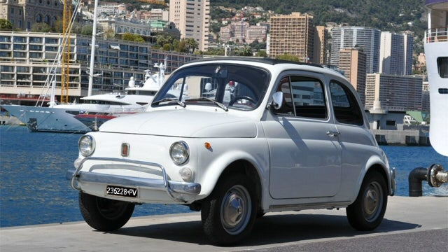 My Very First Car Was A Snow White FIAT 500L...