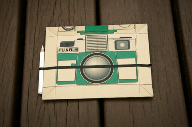 Pinhole Camera Concept Doubles-Up As Postcard