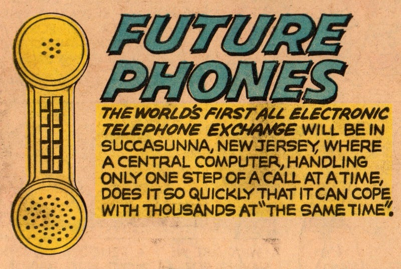 The Fantastic, Wonderful (and Boring) Future of Phones in 1965