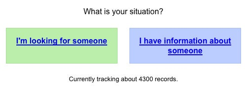 Google Person Finder Helps Reunite People Affected by the Chile Earthquake
