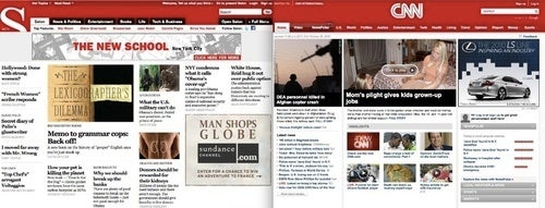 Salon and CNN Share an Awkward Redesign Moment
