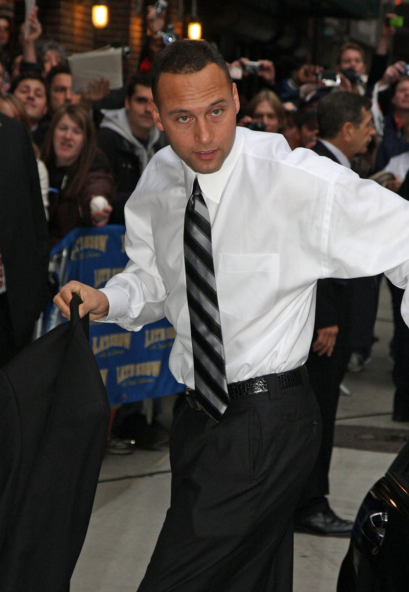 Is Derek Jeter Finally Getting Hitched?