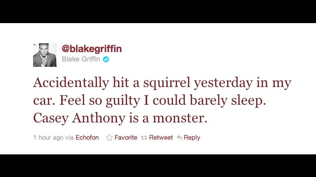 Blake Griffin Made The First Non-Asinine Athlete-On-Current-Events Tweet In History