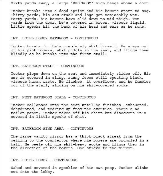Tucker Max's Movie Script: The Final Lowlights