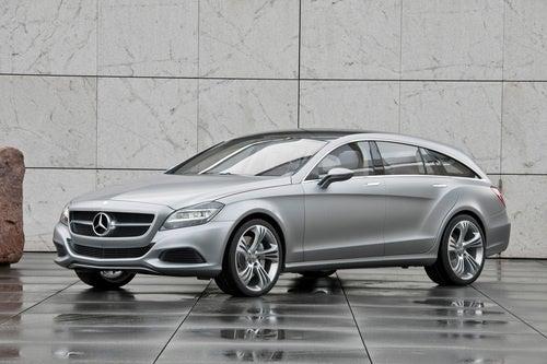 Mercedes-Benz CLS Shooting Break Concept: Exterior Photos