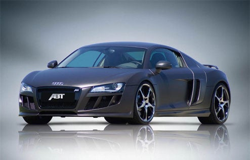 ABT Sportsline Shows Off Carbon Fiber Film Wrap For Audi R8, Q7