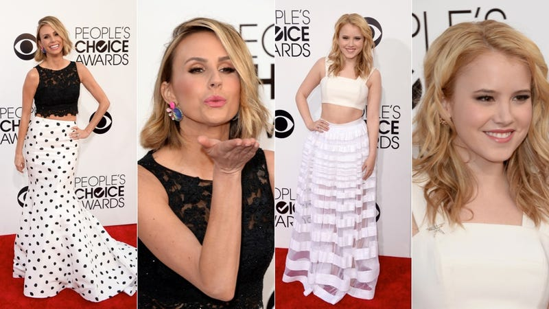 Cute Dresses, Hideous Hair and Innerboob at the People's Choice Awards