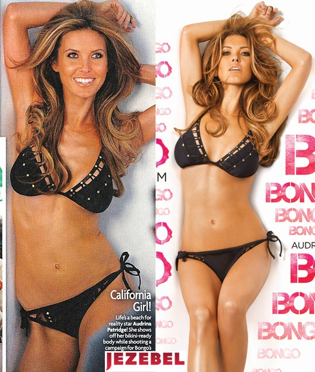 Audrina Photoshopped To Look Less Bony