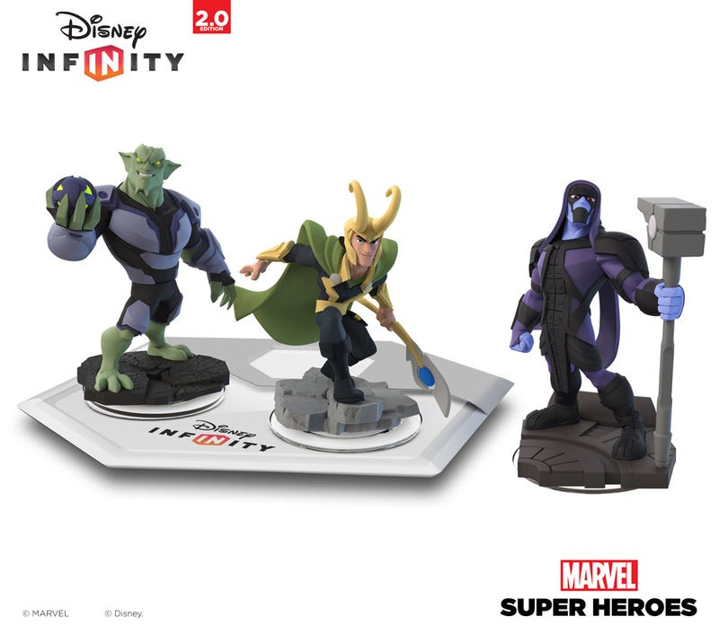 Meanwhile, In Disney Infinity 2.0, Super Villains Attack