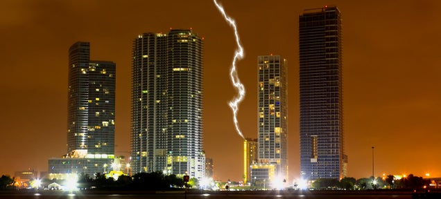 Can Lasers Protect Buildings From Lightning?