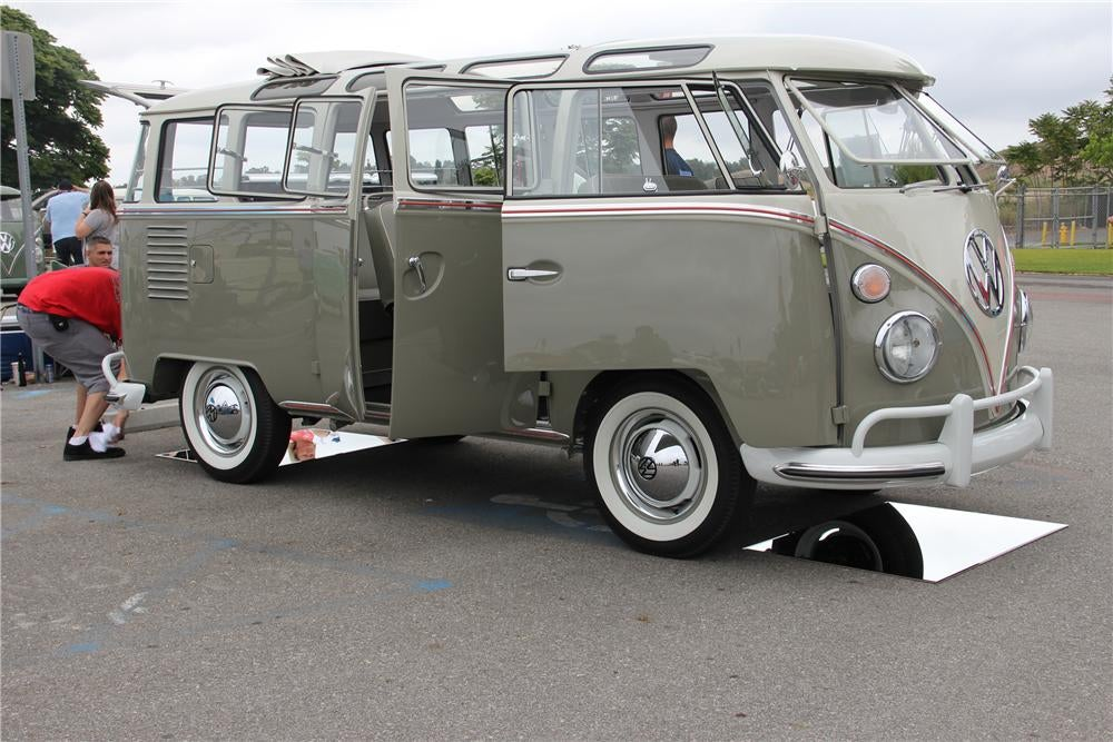 This Is What A 217 800 1963 Volkswagen Bus Looks Like