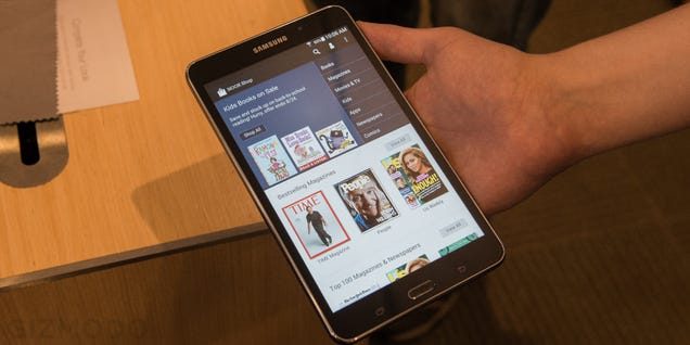 Nook Reborn As a $180 Samsung Galaxy Tab 4 (Update: Hands On)