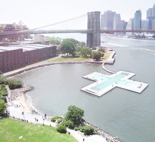 We Could Have Used a Floating Pool in the East River This Summer