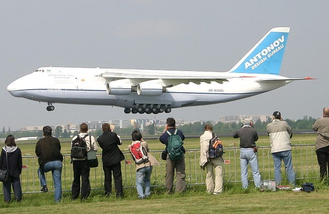 Buy a Cheap Antonov, Laugh at Carry-on Limits