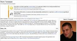 Sad Flacks Secretly Edit Their Boss's Own Wikipedia Page