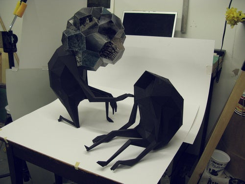 Your Trash Attains Sentience in Alien Sculptures