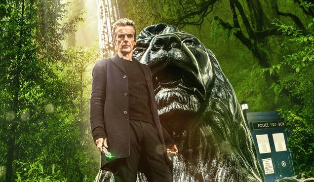 When Doctor Who Gets Lost In The Forest, It REALLY Gets Lost