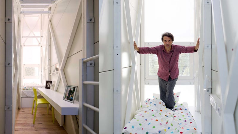 Inside the Thinnest Home In the World (Spoiler: It's Actually Quite Cool)