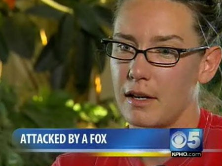 Fox Attack Victim Courageously Steps Forward With Harrowing Tale Of Survival