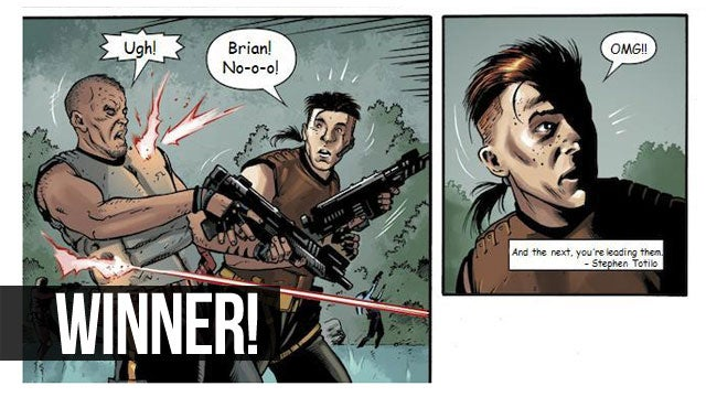 The Force Was Strongest With These Star Wars Comics Caption Winners