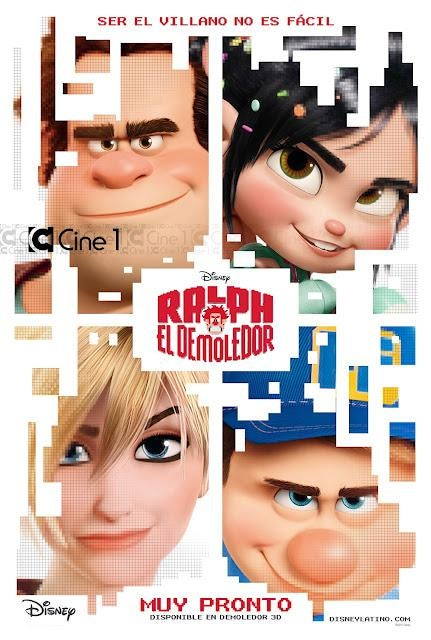 New Wreck-It Ralph Posters