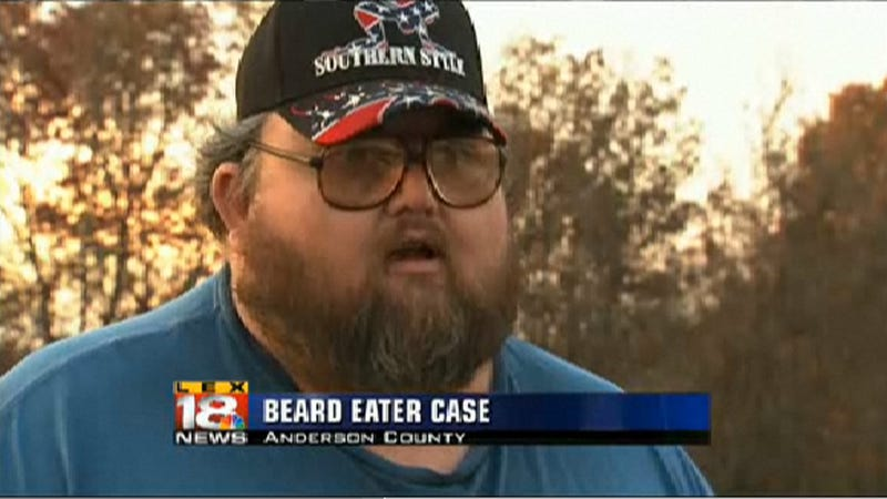 Beard Eaten at Knifepoint Worth $570
