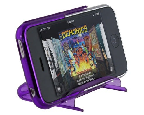 Speck SeeThru iPhone 3G Hard Case is its Own Movie-Viewing Stand